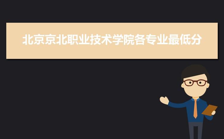 2021年北京京北职业技术学院高考各专业最低分和录取位次排名