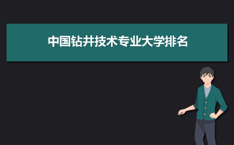 2021年中国钻井技术专业全国大学排名完整最新排名