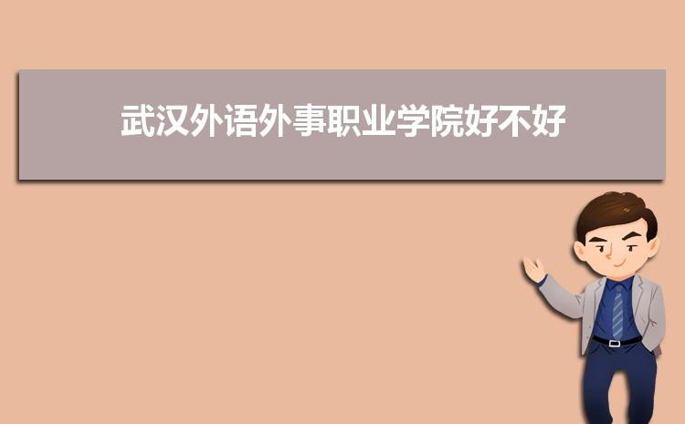 武汉外语外事职业学院好不好,多少分可以上附真实评价