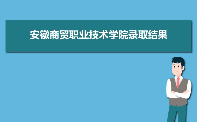 2021年安徽商贸职业技术学院录取结果公布查询时间什么时候出来