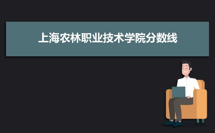 上海农林职业技术学院历年高考录取分数线一览表 附文理科投档线