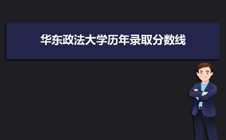 华东政法大学历年高考录取分数线一览表 附文理科投档线